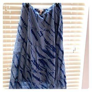 Boho office skirt size XL